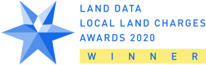 Land Data Local Land Charges Awards 2020 Winner Logo