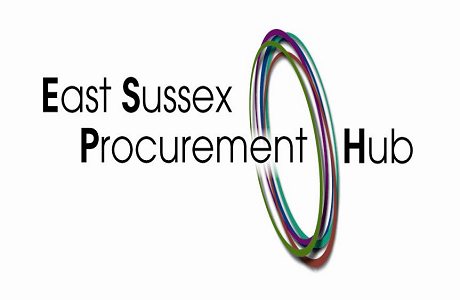 Logo for the East Sussex Procurement Hub